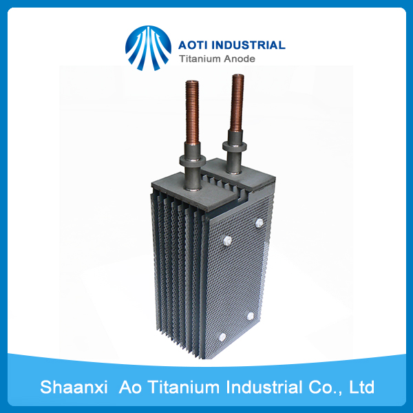 PbO2 Plated Titanium Mesh Anode for Chromate Treatment