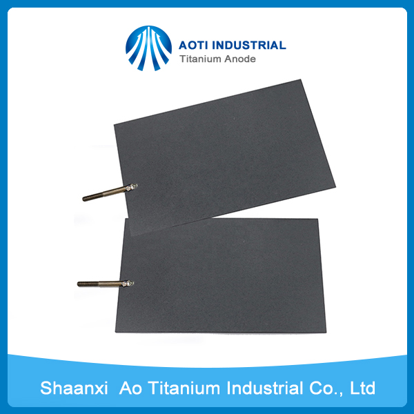 Iridium Oxide Coated Plate Titanium Anode for Electrolysis