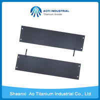 Iridium Oxide Coated Titanium Anode for Aluminum Foil